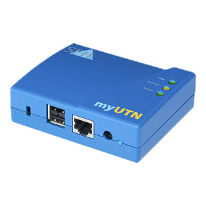 SEH myUTN-50 USB Device Server - 1 x RJ-45 10/100Base-TX , 2 x USB