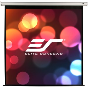 "Elite Screens VMAX113XWS2 Electric Projection Screen - 80"" x 80"" - Matte White - 113"" Diagonal"