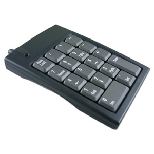 Genovation Micropad 631 Numeric Keypad - USB - 18 Keys - Gray