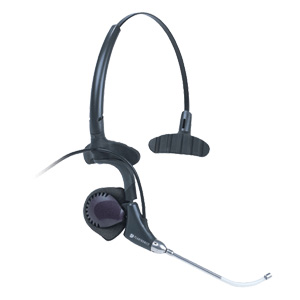 Plantronics DuoPro H171 Headset - Wired - Over-the-ear, Over-the-head - Monaural - 3.30 ft Cable