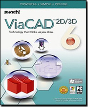 Punch! ViaCAD Version 6 2D/3D for Windows
