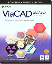 Punch! ViaCAD Version 5 2D/3D For Mac