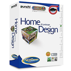 Punch! Home & Landscape Design Suite with NexGen Technology