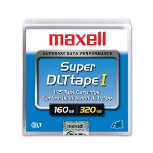 Maxell SDLT-220 Data Cartridge - Super DLT - Super DLTtape I - 160 GB (Native) / 320 GB (Compressed) SDLT 320, 110 GB (Native) / 220 GB (Compressed) SDLT 220 - 1 Pack