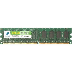 Corsair Value Select 2GB DDR2 SDRAM Memory Module - 2GB (2 x 1GB) - 533MHz DDR2-533/PC2-4200 - Non-ECC - DDR2 SDRAM - 240-pin
