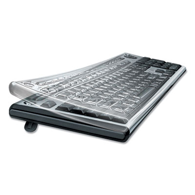 Fellowes Antimicrobial Custom Keyguard Cover Kit - Supports Keyboard - Abrasion Resistant, Tear Resistant, Crack Resistant, Dust Proof, Antimicrobial - Polyurethane - Clear