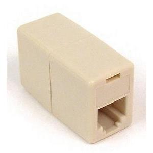 Belkin Telephone Cord Coupler - 1 x RJ-12 Female - 1 x RJ-12 Female