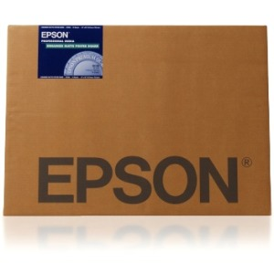 "Epson Coated Paper - 24"" x 30"" - Matte - 103% Brightness - 10 Sheet - White"