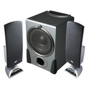 Cyber Acoustics Platinum CA-3550RB 2.1 Speaker System - 68 W RMS - 22 Hz - 20 kHz