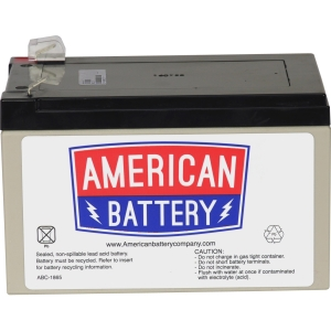 ABC Replacement Battery Cartridge #4 - Maintenance-free Lead Acid Hot-swappable