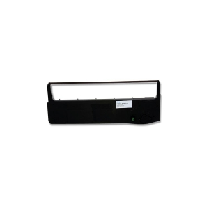 Tallygenicom Black Fabric Ribbon Cartridge - Black - Dot Matrix - 50 Million Characters - 4 / Box