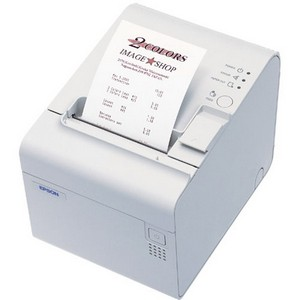 Epson TM-T90 Receipt Printer - Monochrome - 54 lps Mono - 180 x 180 dpi - USB