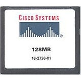 Cisco 128MB CompactFlash Card - 128 MB