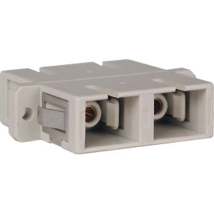 Tripp Lite Duplex Fiber SC/SC Coupler - 2 x SC Female Network - 2 x SC Female Network