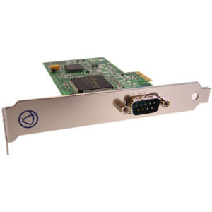 Perle UltraPort1 Express Serial Adapter - 1 x 9-pin DB-9 Male RS-232 Serial