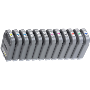 Canon PFI-701GY Ink Cartridge - Gray - Inkjet