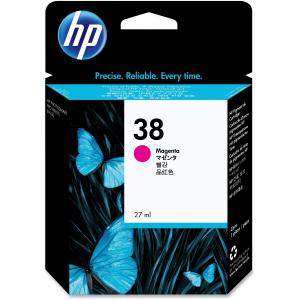 HP 38 Magenta Ink Cartridge - Magenta - Inkjet - 840 Page - 1 Each