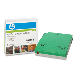 HP LTO Ultrium 4 WORM Tape Cartridge - LTO Ultrium - LTO-4 - 800 GB (Native) / 1.60 TB (Compressed) - 1 Pack