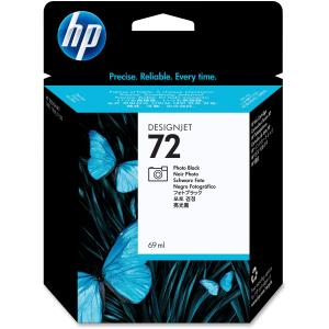 HP 72 Photo Black Ink Cartridge - Photo Black - Inkjet - 1 Each