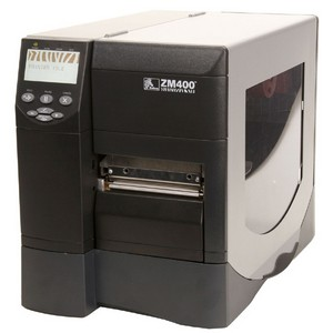 Zebra ZM400 Thermal Label Printer - Monochrome - 10 in/s Mono - 203 dpi - USB, Serial, Parallel