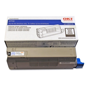 Oki Black Toner Cartridge - Black - LED - 11000 Page - 1 Each