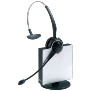 GN Jabra GN9125 Flex Boom Headset - Wireless Connectivity - Mono - Over-the-head, Over-the-ear