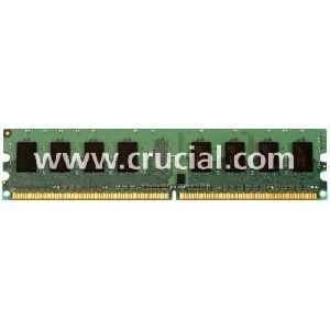 Crucial 4GB DDR2 SDRAM Memory Module - 4GB (2 x 2GB) - 800MHz DDR2-800/PC2-6400 - Non-ECC - DDR2 SDRAM - 240-pin DIMM