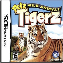 Petz Wild Animals Tigerz (Nintendo DS)