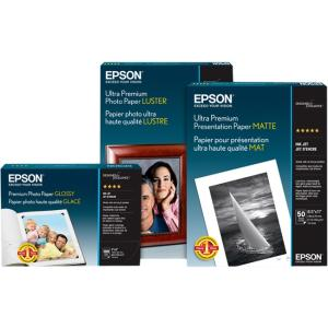 Epson Matte Paper - A0 - 36&quot; x 82 ft - 180 g/m - Matte - 84% Brightness - 1 / Roll - White