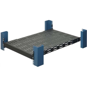 "Innovation Universal Heavy Duty Rack Mount Shelf - 19"" 1U External"