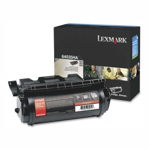 Lexmark High Yield Print Cartridge - Black - Laser - 21000 Page