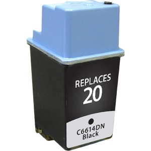 V7 Black Inkjet Cartridge for HP DeskJet 610C - Inkjet - 455 Page