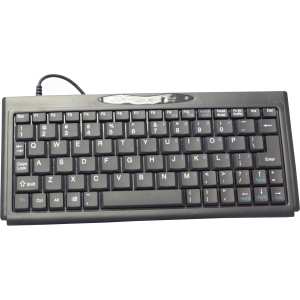 Solidtek Super Mini Keyboard 77 Keys KB-P3100BU - USB - 77 Key - PC