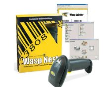 Wasp WaspNest WLS9500 Laser Barcode Scanner Suite - Complete Product - Standard - 1 User -   Retail - PC