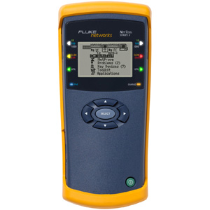 Fluke Networks NetTool Series II Inline Network Tester - RJ-45 10/100/1000Base-T Network , USB