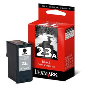 Lexmark #23A Black Ink Cartridge - Inkjet - Black
