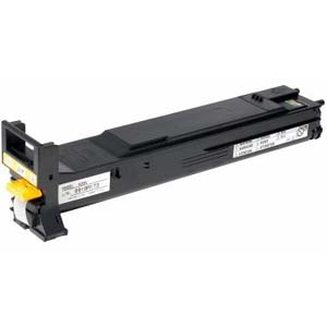 Konica Minolta Standard Capacity Yellow Toner Cartridge - Laser - 12000 Page - Yellow