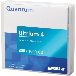 Quantum LTO Ultrium 4 Tape Cartridge - LTO Ultrium LTO-4 - 800GB (Native) / 1.6TB (Compressed)