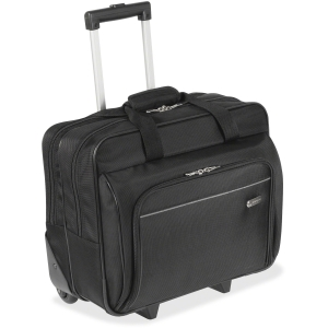 Targus 16&quot; Metro Roller Notebook Bag - 16&quot; Screen Support - Polyester - Black