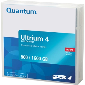 Quantum LTO Ultrium 4 WORM Tape Cartridge - LTO Ultrium LTO-4 - 800GB (Native) / 1600GB (Compressed)