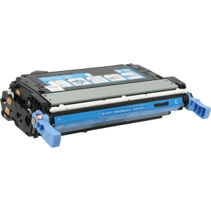 V7 Cyan Toner Cartridge for HP Color LaserJet 4700 - Laser - 10000 Page