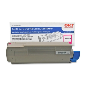 Oki Magenta Toner Cartridge - Magenta - LED - 6000 Page - 1 Each