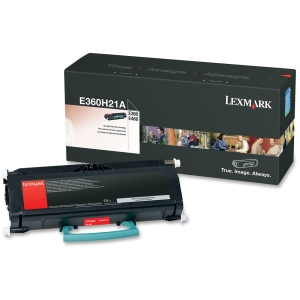 Lexmark High Yield Black Toner Cartridge - Black - Laser - 9000 Page