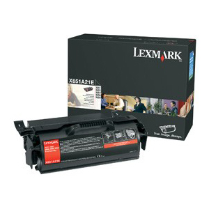 Lexmark Black Toner Cartridge - Laser - 7000 Page - Black