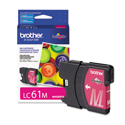 Brother Magenta Ink Cartridge - Magenta - Inkjet - 325 Page - 1 Each