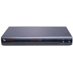 Avocent LongView 1000R Receiver - 1 Computer(s) - 1 Remote User(s) - Rack-mountable