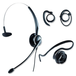 "GN GN2100 Headset - Mono - Quick Disconnect - Wired - 80Hz-15kHz - Over-the-head, Behind-the-neck, Over-the-ear - 31.5"" Cable - Noise Cancelling Microphone"