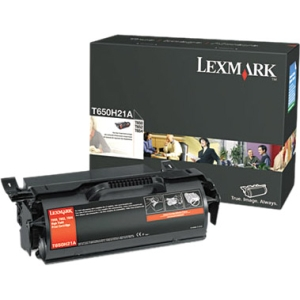 Lexmark High Yield Black Toner Cartridge - Black - Laser - 25000 Page