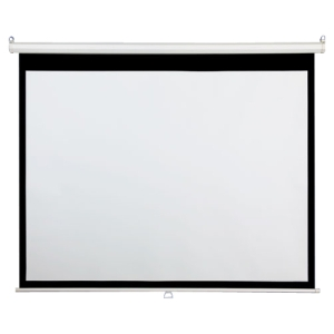 "Draper AccuScreen Manual Wall and Ceiling Projection Screen - 45"" x 80"" - 92"" Diagonal"