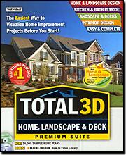 Total 3D Home, Landscape & Deck Premium Suite